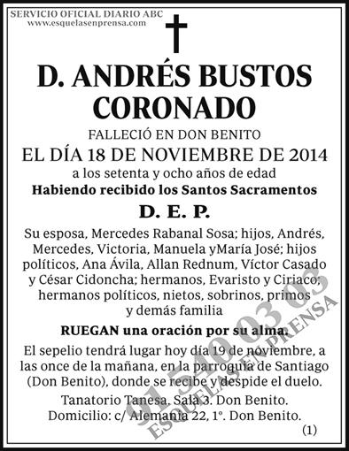 Andrés Bustos Coronado